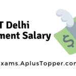 IIT Delhi Placement Salary