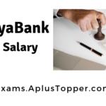 Vijaya Bank Po Salary