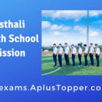 Banasthali Vidyapith School Admission