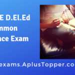 HPBOSE D.El.Ed Common Entrance Exam