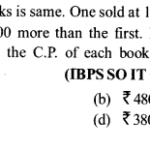Profit and Loss Questions for IBPS SO 1