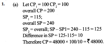 Profit and Loss Questions for IBPS SO 2