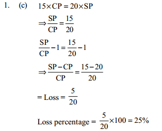 Profit and Loss Questions for IBPS SO 4