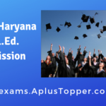 SCERT Haryana D.El.Ed. Admission