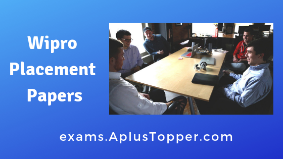 Wipro Placement Papers