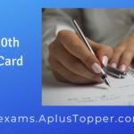 PSEB 10th Admit Card