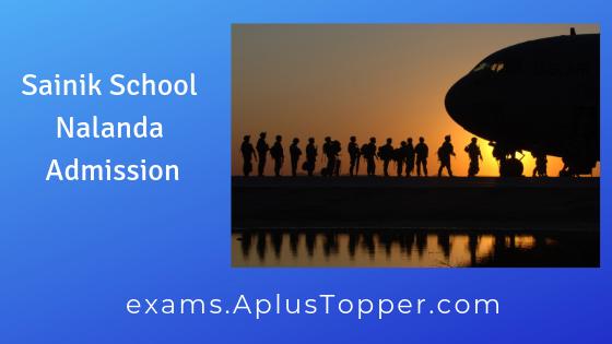 Sainik School Nalanda Admission