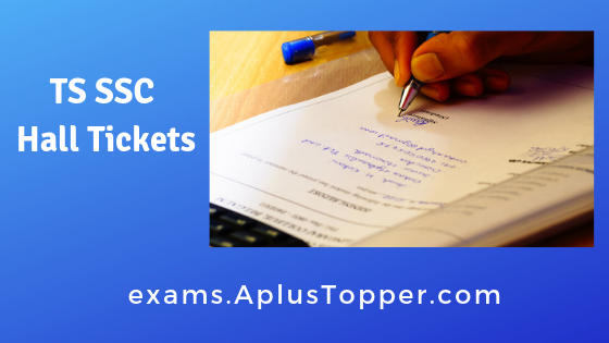TS SSC Hall Tickets 2019 Download