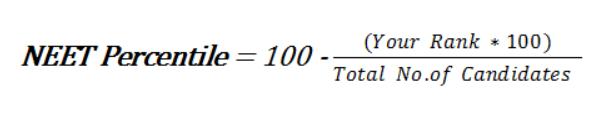 NEET Percentile