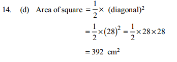 Area and Perimeter Questions for IBPS Clerk 21