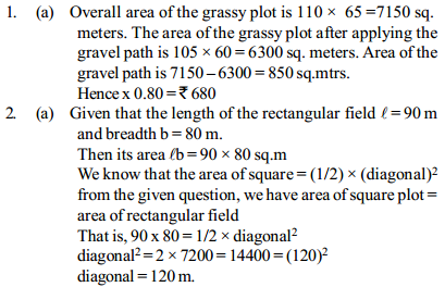 Area and Perimeter Questions for IBPS Clerk 4