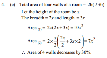 Area and Perimeter Questions for IBPS SO 9