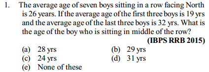 Average Questions for IBPS RRB 3