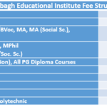 Dayalbagh Educational Institute Fee Structure