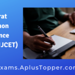 Gujarat Common Entrance Test or GUJCET