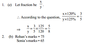 Percentage Questions for IBPS PO 14