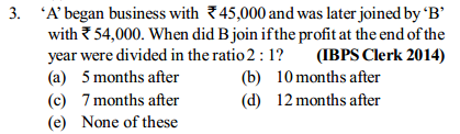 Ratio and Proportion Questions for IBPS Clerk 10