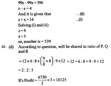 Ratio and Proportion Questions for IBPS PO 10