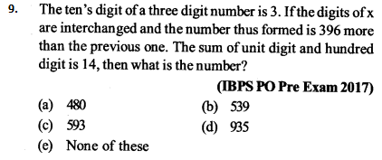 Ratio and Proportion Questions for IBPS PO 4