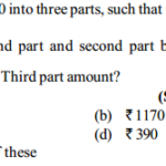 Ratio and Proportion Questions for SBI PO 22
