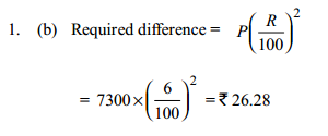 Simple Interest and Compound Interest Questions for IBPS PO 12