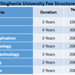 Singhania University Fee Structure