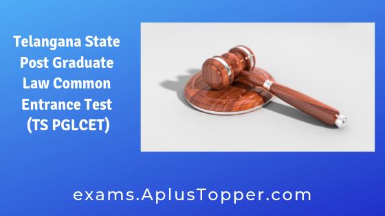 Telangana State Post Graduate Law Common Entrance Test