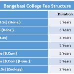 Bangabasi College Fee Structure