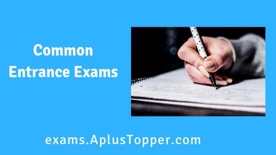 Common Entrance Exams (CEE)