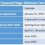 Dayanand Sagar Admission Test
