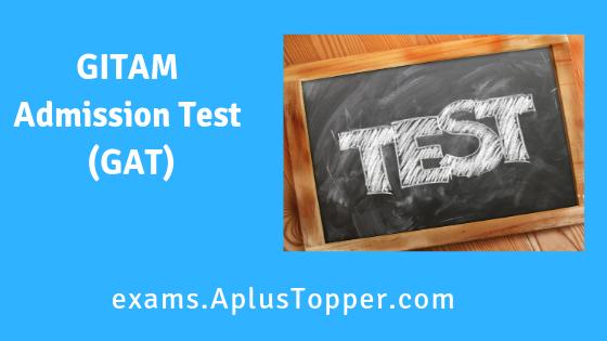 GITAM Admission Test