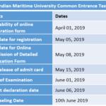 Indian Maritime University Common Entrance Test