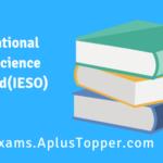 International Earth Science Olympiad