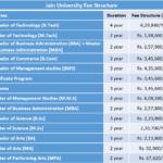 Jain University Fee Structure