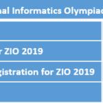 National Informatics Olympiad(NIO)
