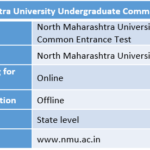 North Maharashtra University Undergraduate Common Entrance Test