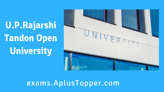 U.P.Rajarshi Tandon Open University