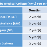 Kasturba Medical College (KMC) Fee Structure