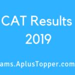 CAT Result 2019