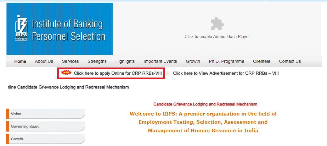 IBPS RRB Application Form