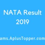 NATA Result 2019