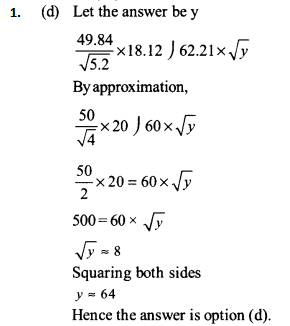 Approximation Questions for IBPS SO 2