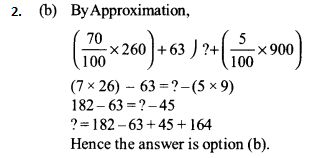 Approximation Questions for IBPS SO 4