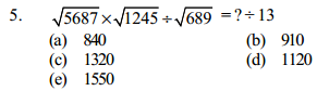 Approximation Questions for SBI Clerk 4