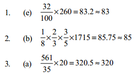 Approximation Questions for SBI PO 14