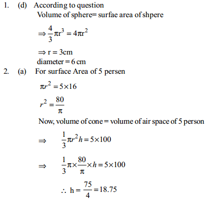 Area and Perimeter Questions for SBI Clerk 15