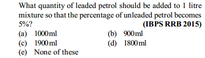 Percentage Questions for IBPS RRB 29