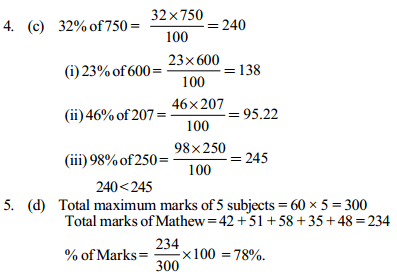 Percentage Questions for SBI Clerk 13