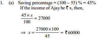 Percentage Questions for SBI Clerk 9