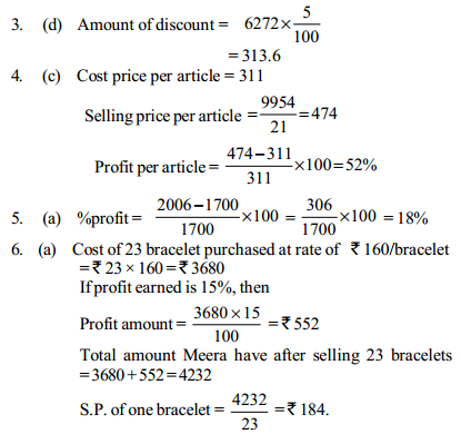 Profit and Loss Questions for SBI Clerks 11